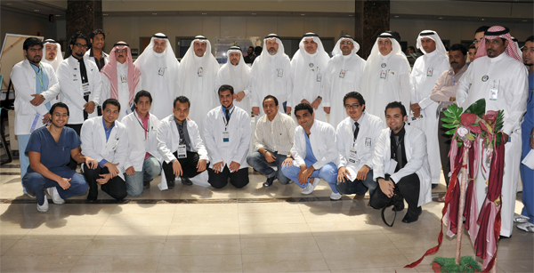 exhibition for talented people in medical colleges and health in the Kingdom