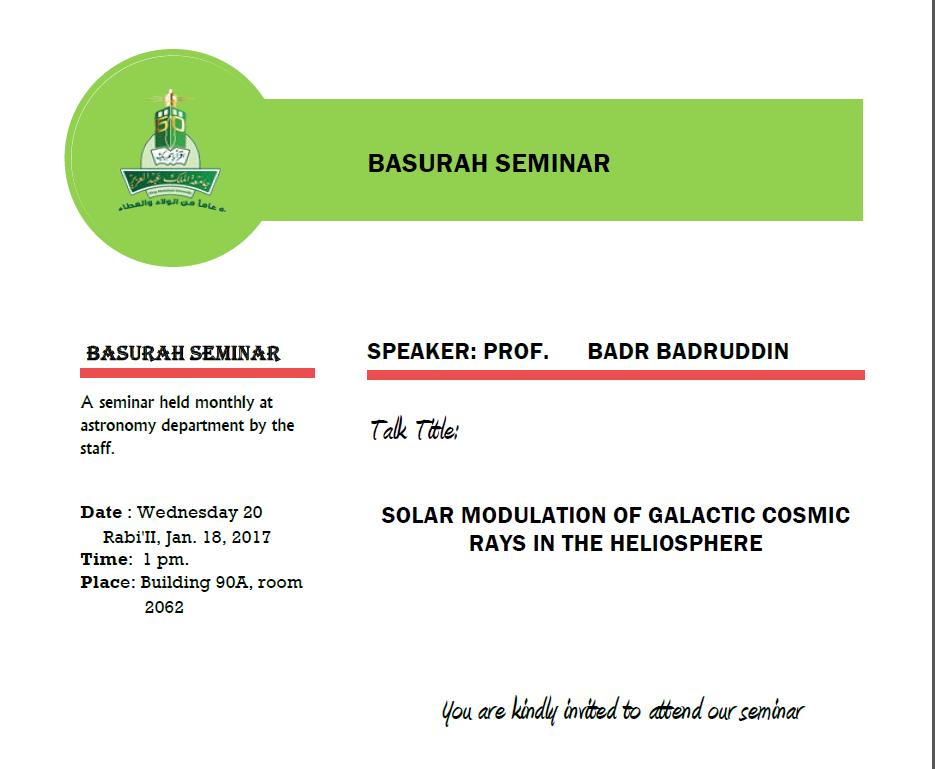 Basurah Seminar