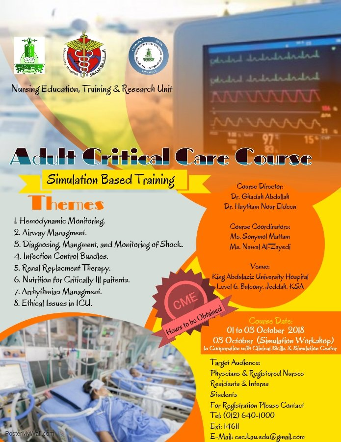 Adult Critical Care Course