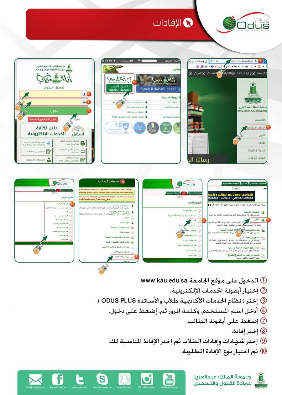 مجموعة صور لل عمادة القبول والتسجيل في جامعة الملك عبدالعزيز انتساب