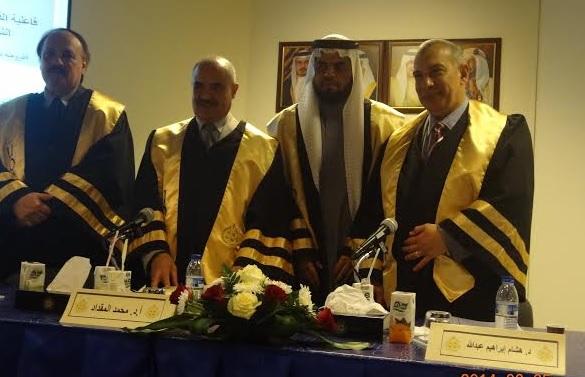 د هشام عبدالله يشارك فى مناقشة رسالة ماجستيربجامعة البحرين ..المزيد